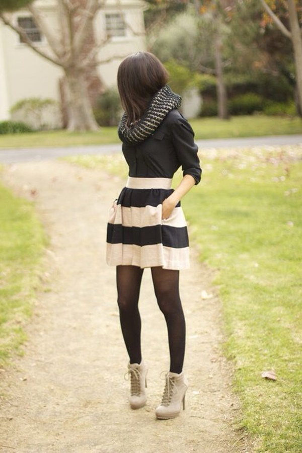 striped skirt outfits (11)