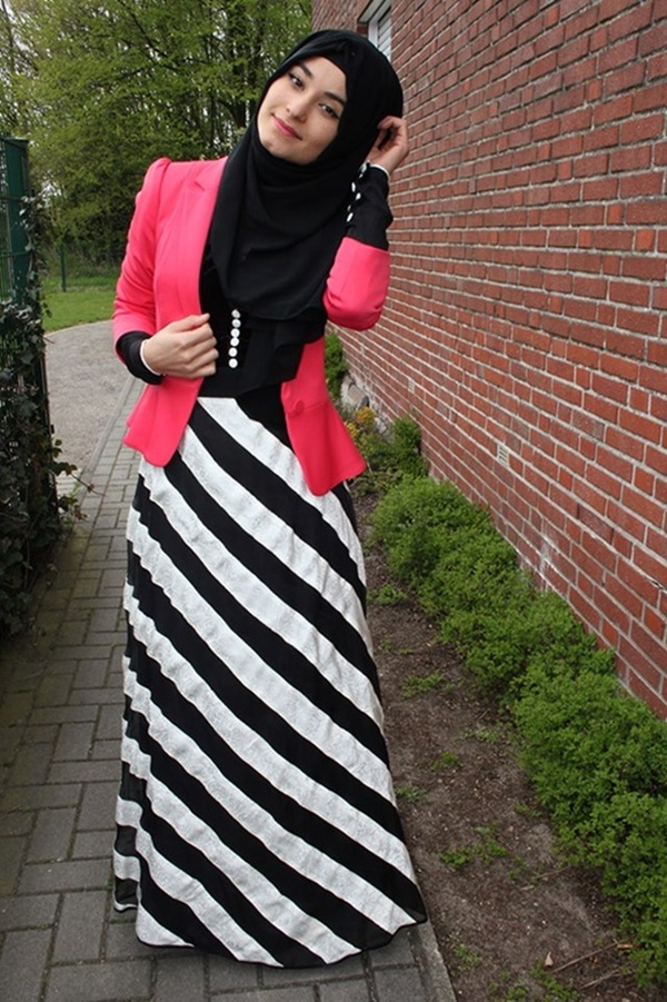 striped skirt outfits (28)