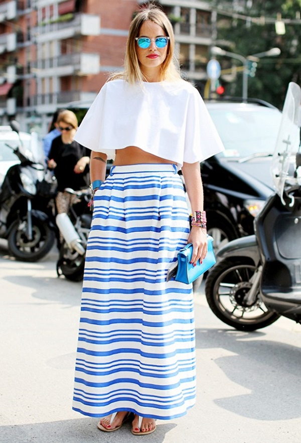 striped skirt outfits (46)