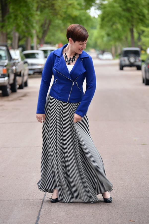 striped skirt outfits (48)