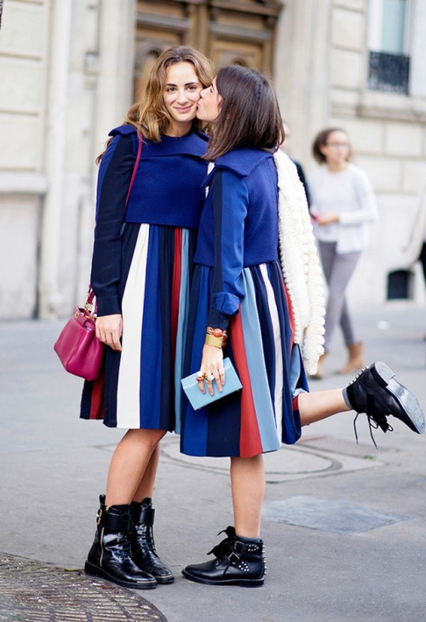 striped skirt outfits (51)