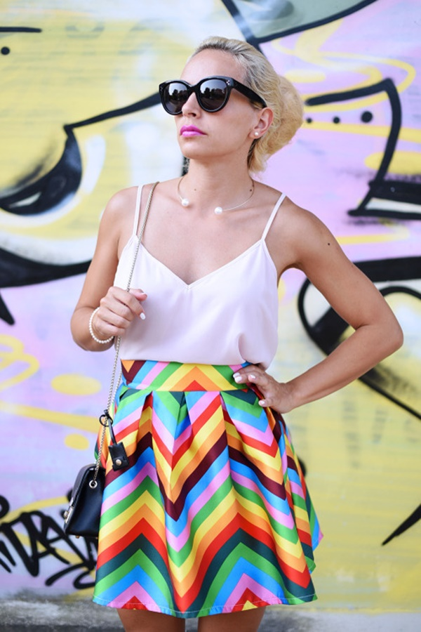 striped skirt outfits (52)