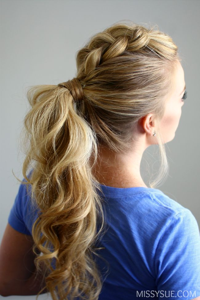 Ponytail Idea 4