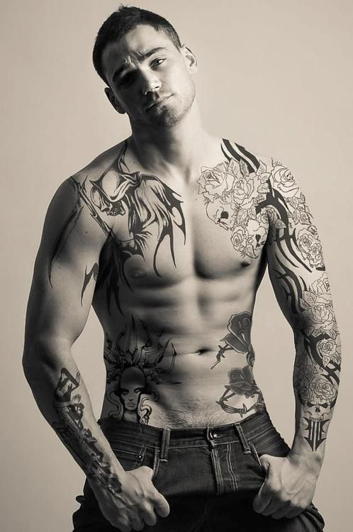 Sleeve Tattoo Men 25