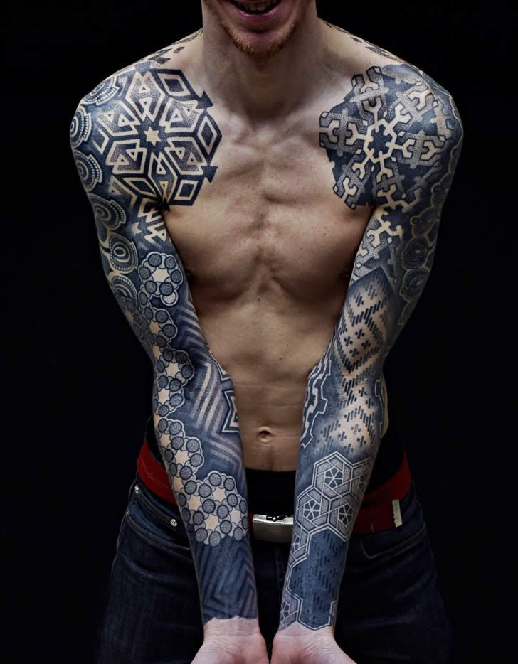 Sleeve Tattoo Men 8