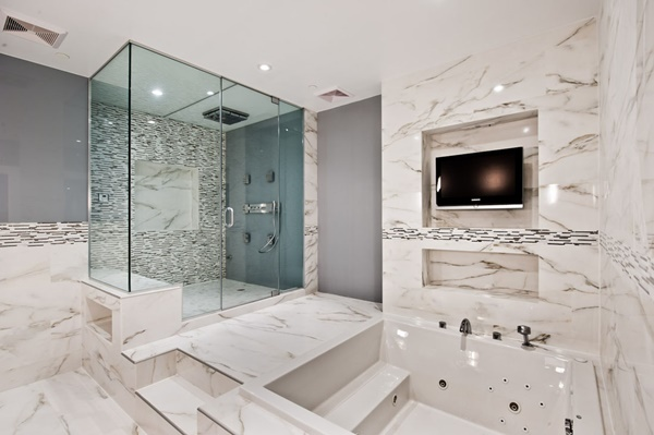large bathrooms feel like a relaxing haven - Large Bathroom Designs
