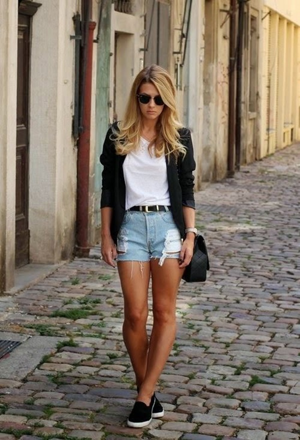 denim shorts outfits (16)