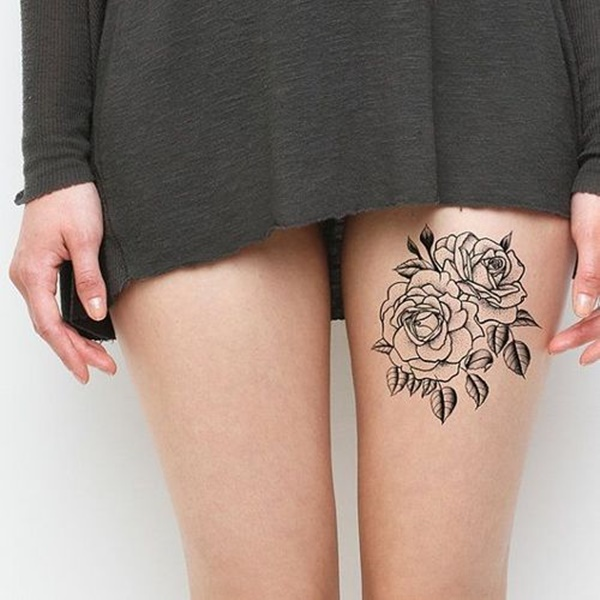 female leg tattoos ideas (31)