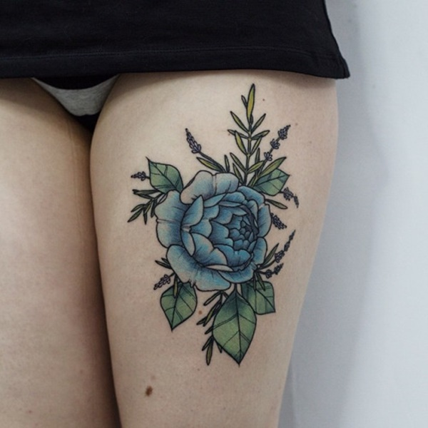 female leg tattoos ideas (47)