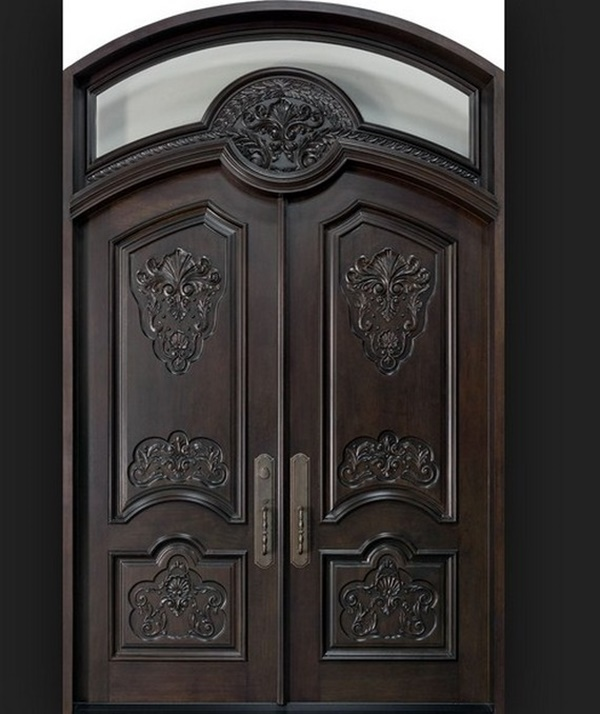 50 latest main door designs for your villa lava360 for Main door design images