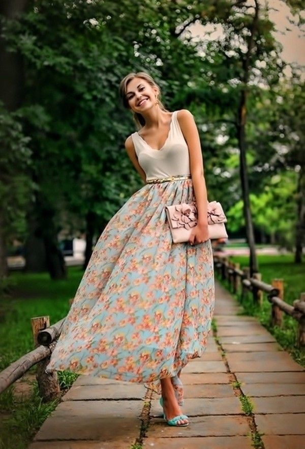 maxi skirt outfits (10)