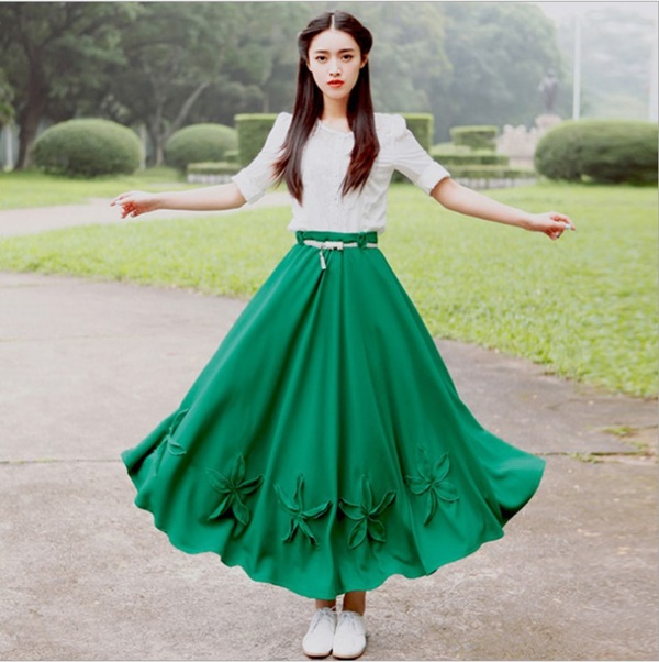 maxi skirt outfits (11)