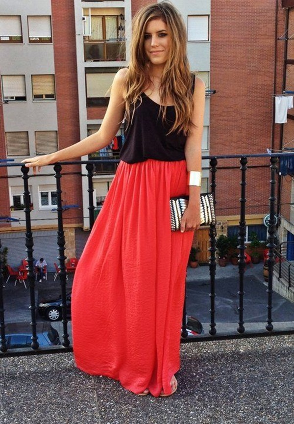 maxi skirt outfits (3)
