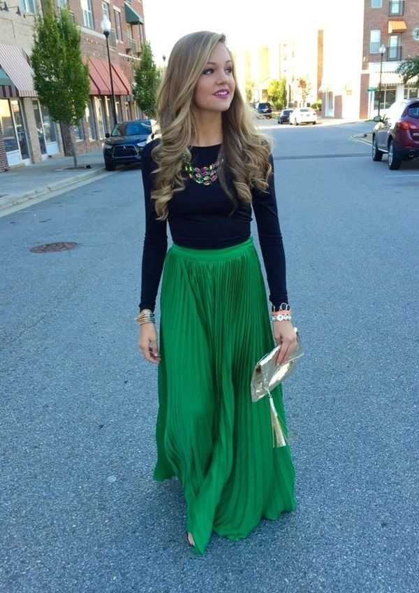 maxi skirt outfits (5)