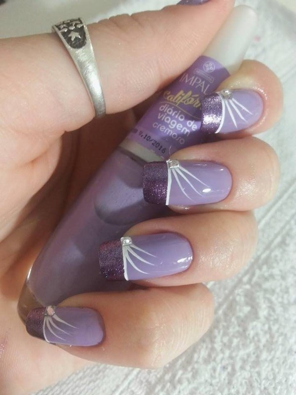 Simple Line Nail Art : Simple nail art designs for beginners