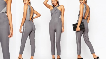 ASOS Jumpsuit with Twisted Knot