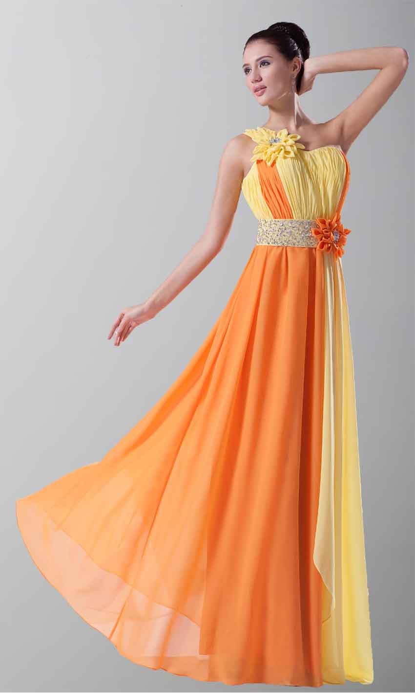 65 beautiful examples of bridesmaid dresses page 2 lava360 bright mismatched color sequin flowing bridesmaid dress ombrellifo Images