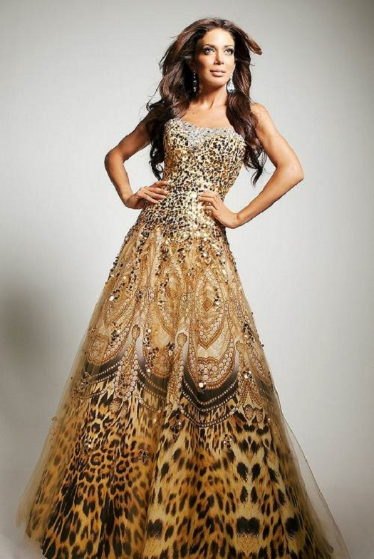 Mesmerizing Gold Dress for you all party girls1.12
