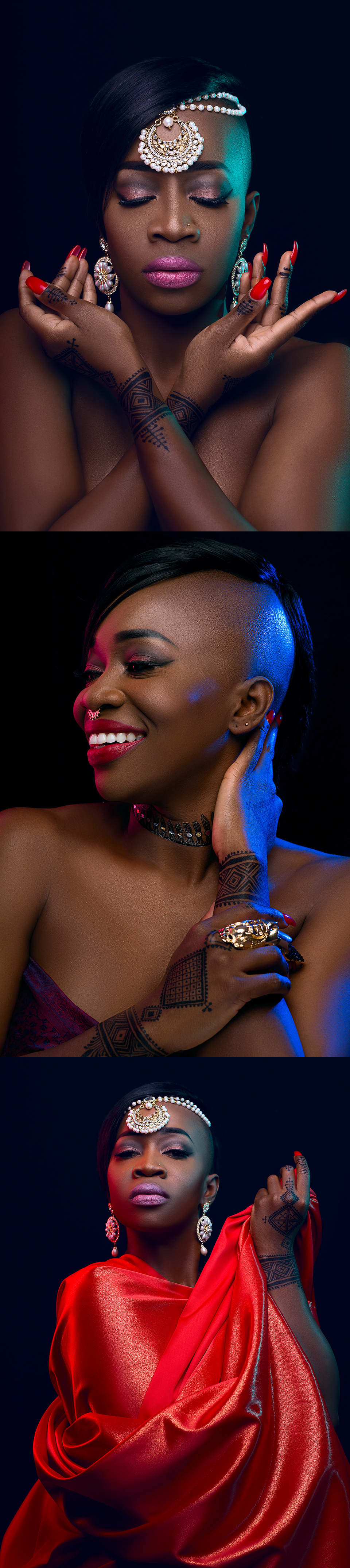 Musician Shaa Exquisitely Exotic Makeup Styles1.4