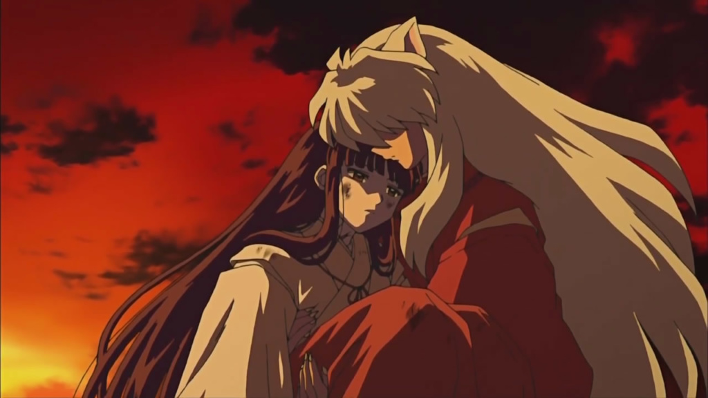Inuyasha-romantic-anime-scenes