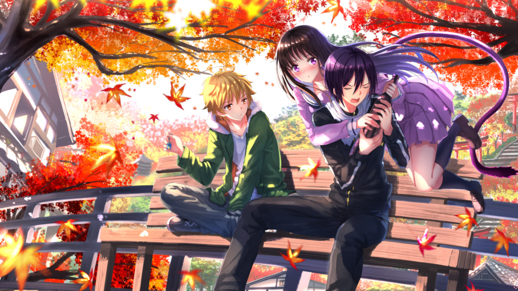 Noragami-romantic-anime-scenes