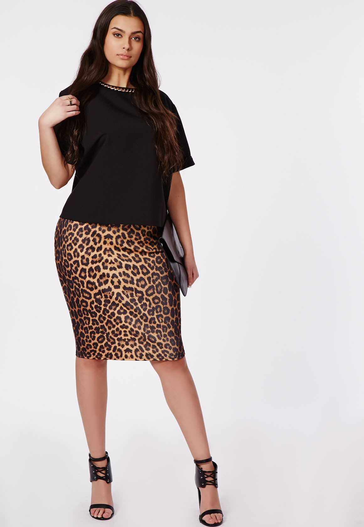 animal Print skirt for girls with large hips