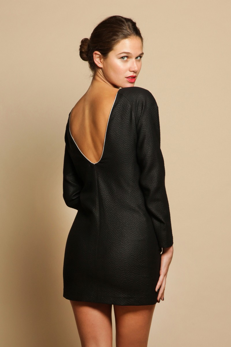 Backless Dress 1