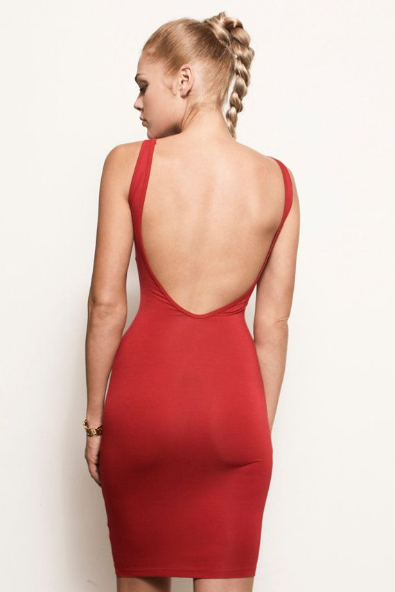 Backless Dress 10