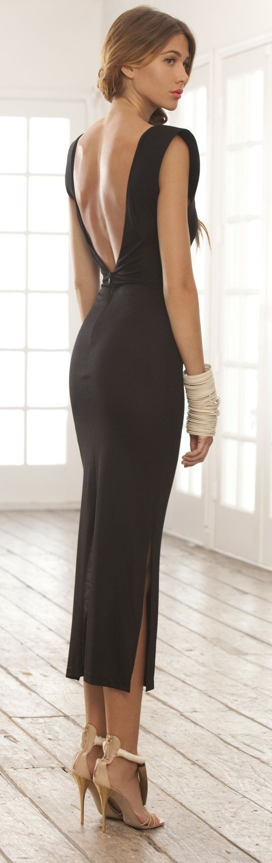 Backless Dress 21