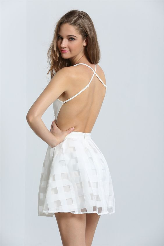 Backless Dress 30