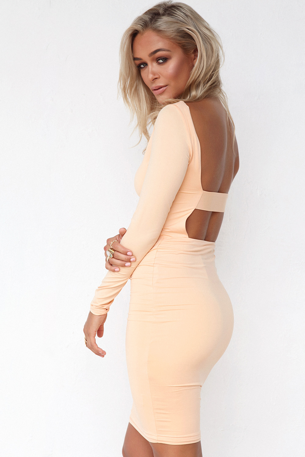 Backless Dress 5