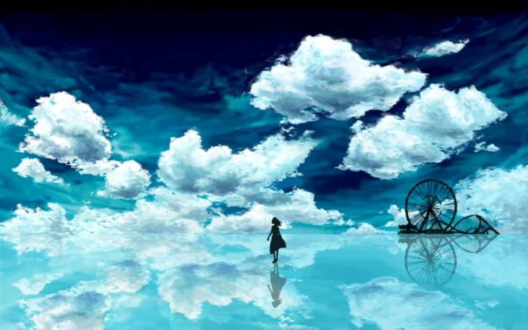 beautiful-anime-water-reflection-wallpaper-15