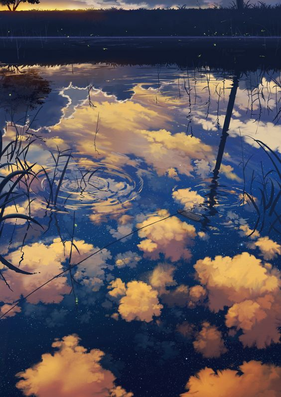 beautiful-anime-water-reflection-wallpaper-45