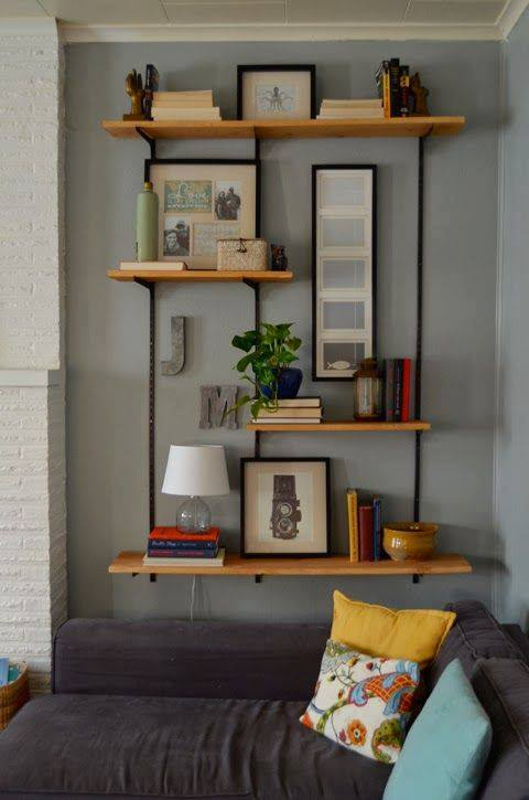 50 amazing bookshelve design ideas lava360 - Etagere murale pour tv ...