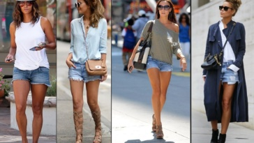 denim-shorts-outfits