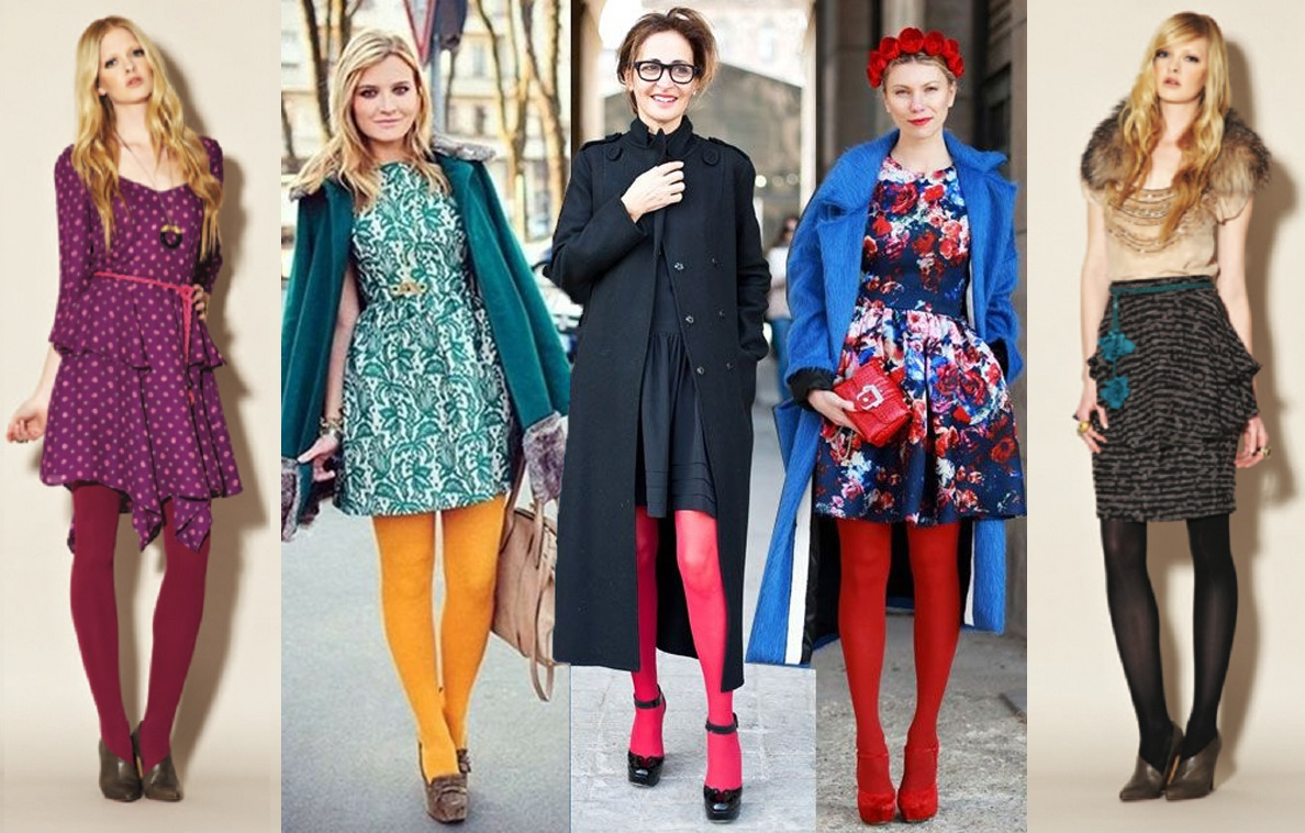 6 Chic Ways To Wear Bright Tights Lava360