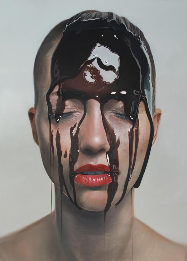 hyperreality oil paintings