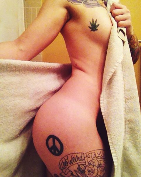 sideboob-tattoos-leaves-designs-peace