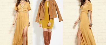 mustard-color-dress-trends
