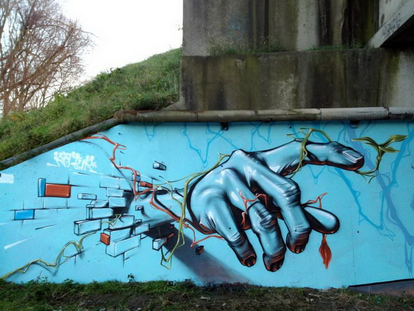 artist ratus graffiti works
