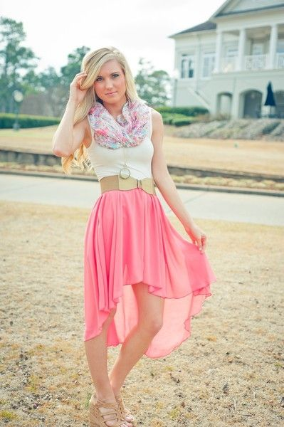 High Low Skirt ideas 1