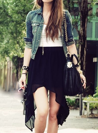 High Low Skirt ideas 21