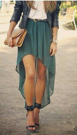 High Low Skirt ideas 23