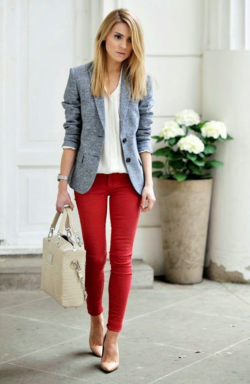 Blazer outfit choices 25