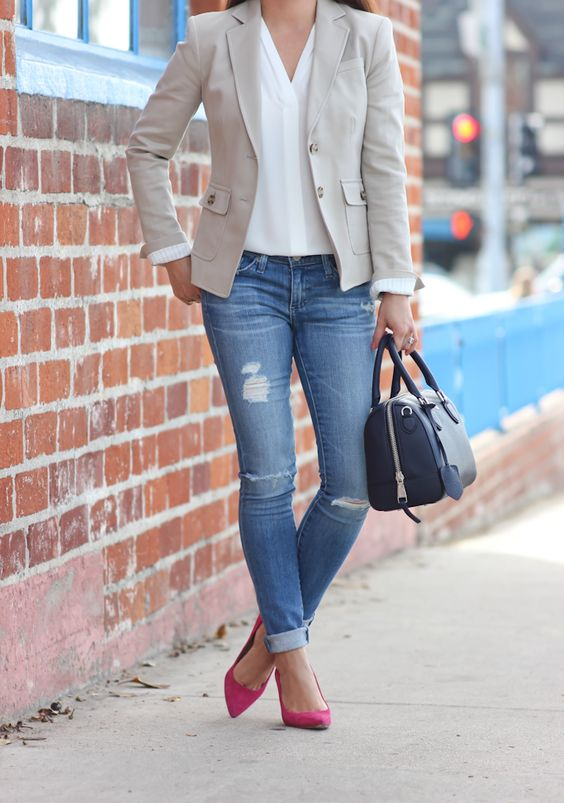 Blazer outfit choices 27