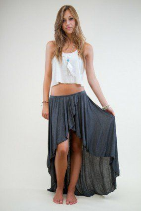High Low Skirt ideas 31