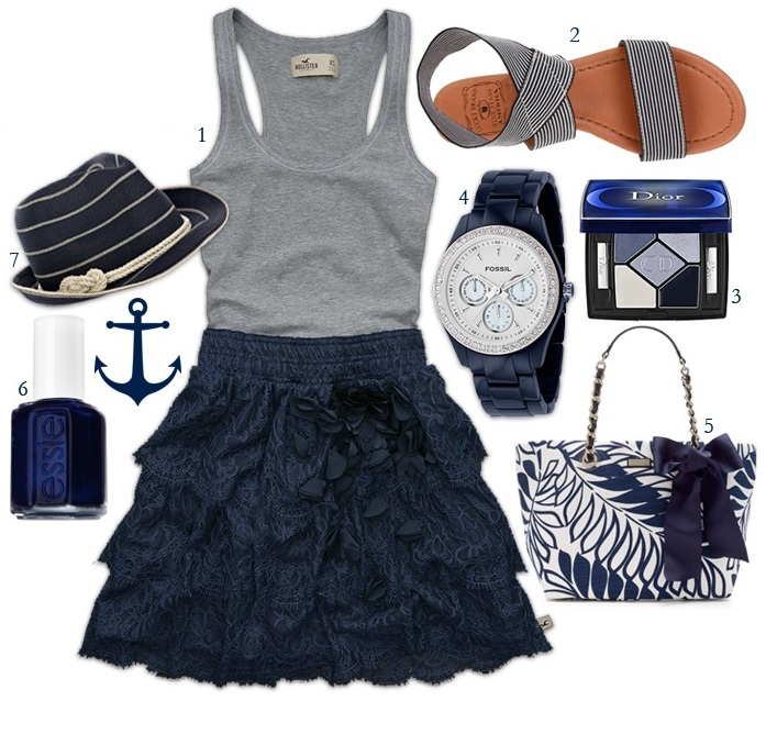 Nautical Style outfits 27 style sheet