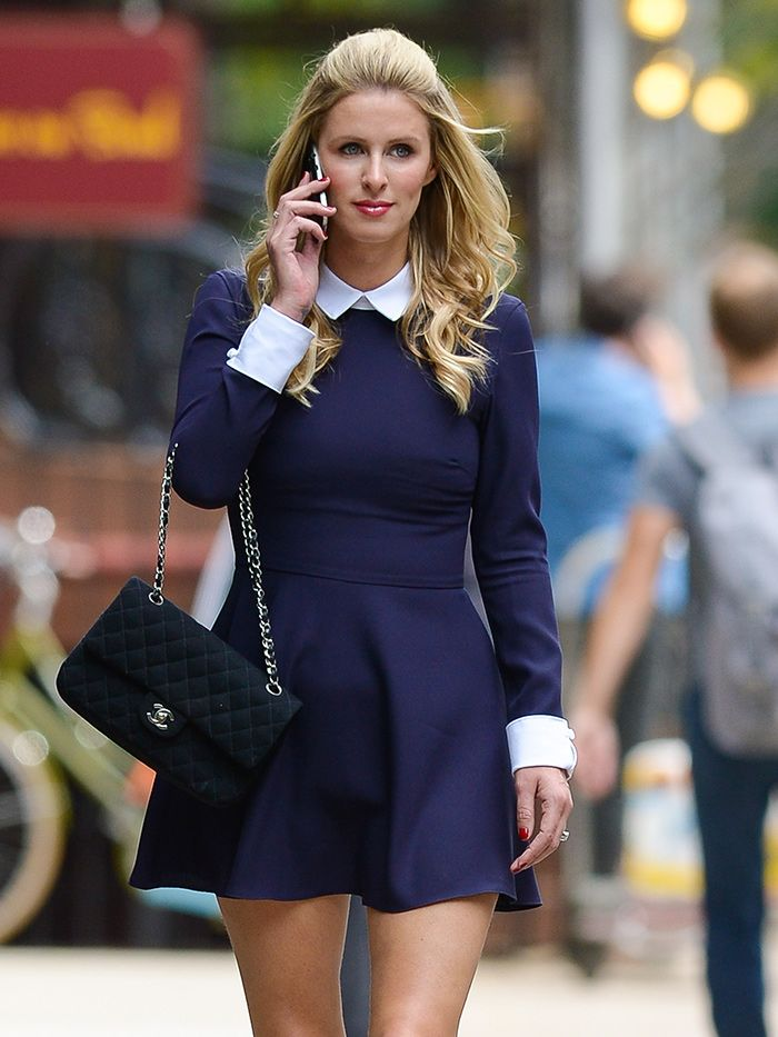 navy-blue-skater-skirt-dress