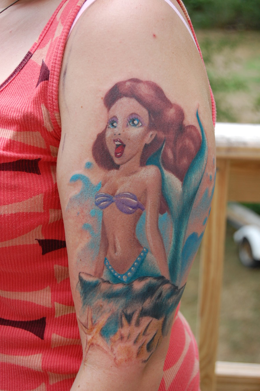 ariel-lovely-mermaid-tattoos-2