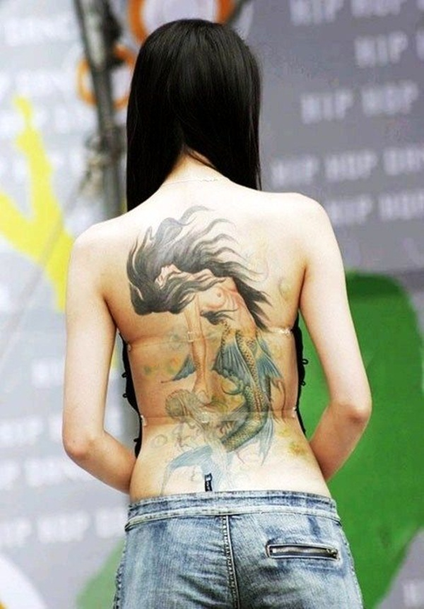 back-lovely-mermaid-tattoos